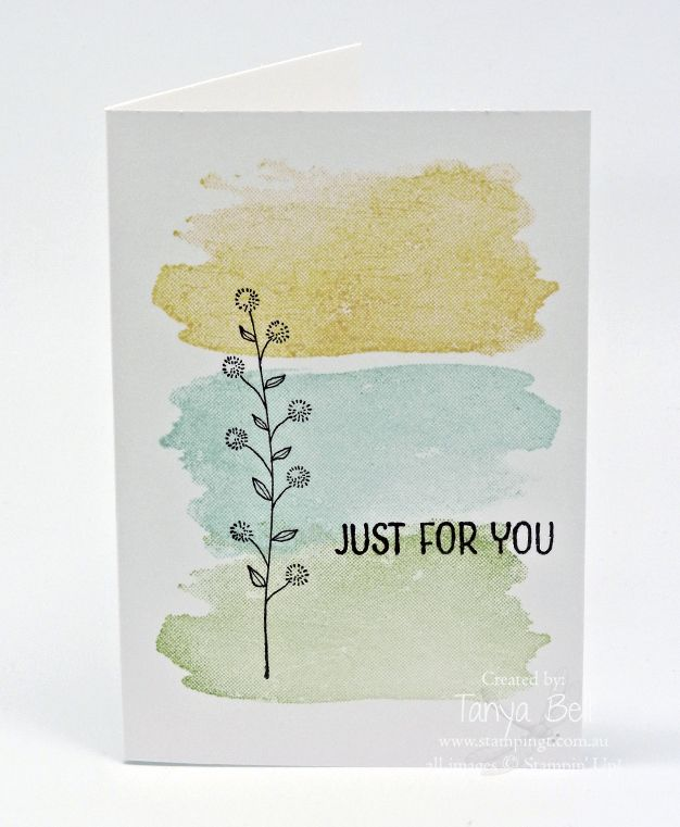 Stampin' Up! Stamping T! - Flowering Fields