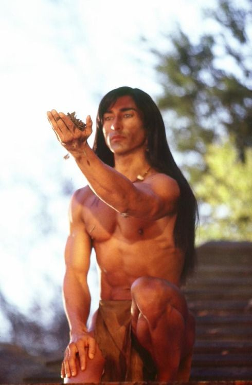 nude native american male