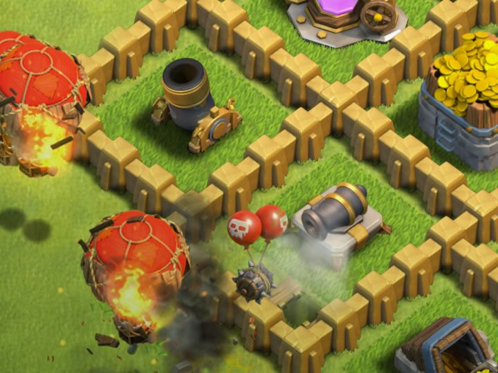 Clash of Clans Air Bomb - Read about Strategie for Defense, Offense, Healer, Skeleton, Levels and Upgrade for your Clash of Clans Air Bomb...