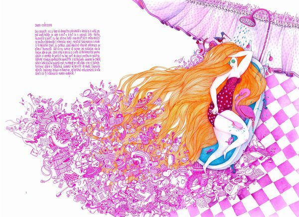 De-adevaratelea | Behind the scenes: Fairytale Heroes by madalina andronic, via Behance