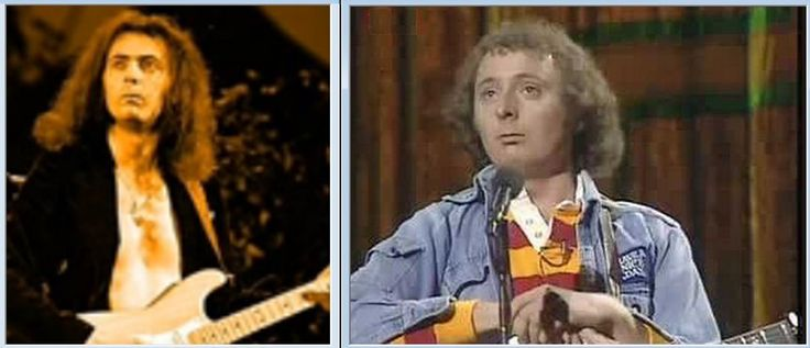 Richie Carrott and Jasper Blackmore separated at birth