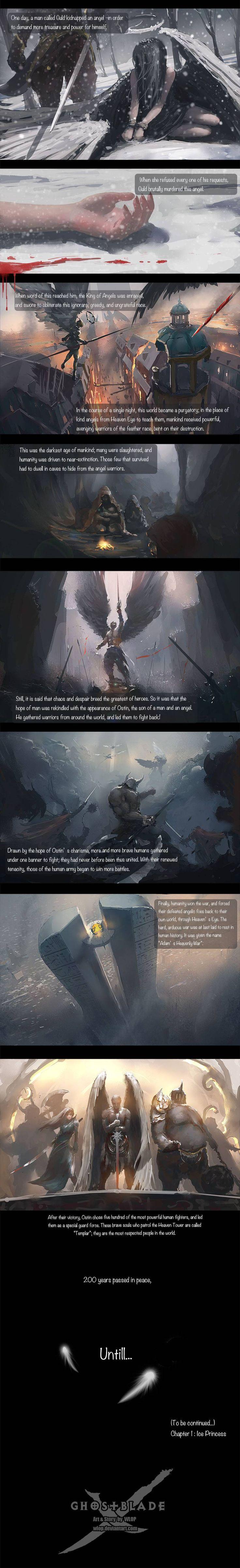 GhostBlade :: Chapter 0 (Intro): Heaven Eye | Tapastic Comics - image 2