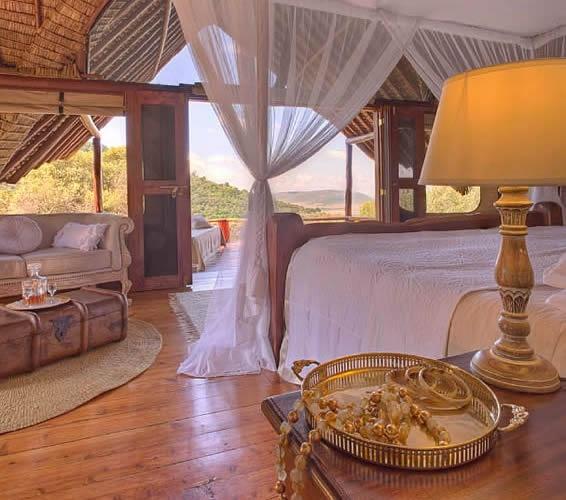 Saruni Camp - Masai Mara: the lodge