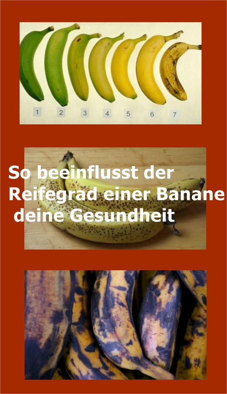 So beeinflusst der Reifegrad einer Banane deine Gesundheit