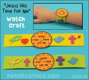 """""""Jesús tiene tiempo para mí"""" reloj de artesanía www.daniellesplace.com"""