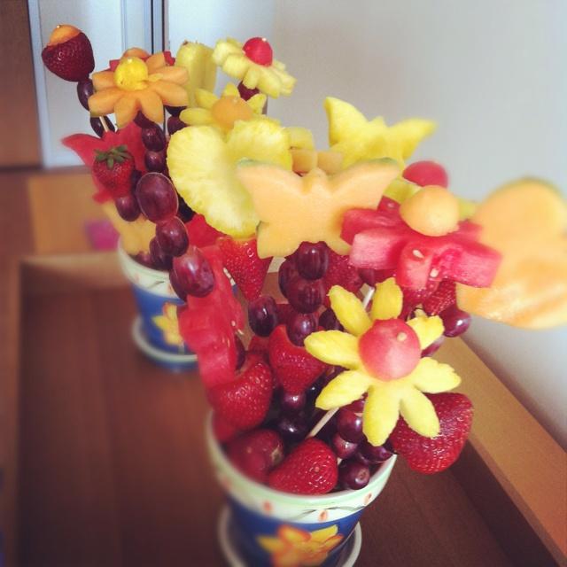 112 best Fruit Bouquets images on Pinterest | Fruit arrangements ...