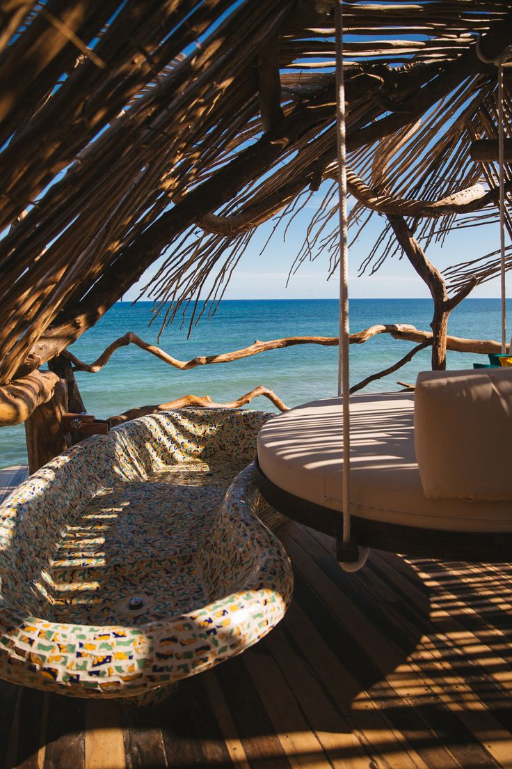 Tulum, Mexico. Treehouse hotel.