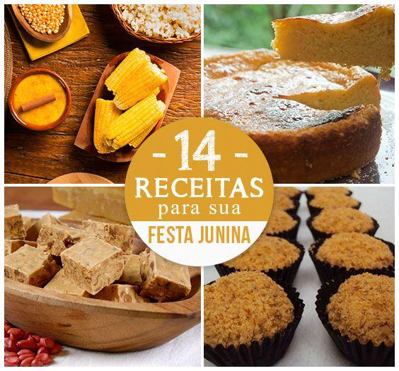 Da queijadinha à pamonha, veja as melhores receitas para uma autêntica festa junina