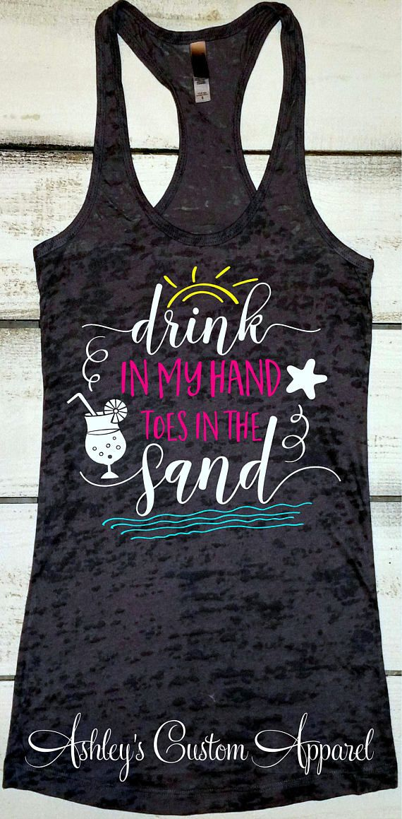 Funny Day drinking tank top