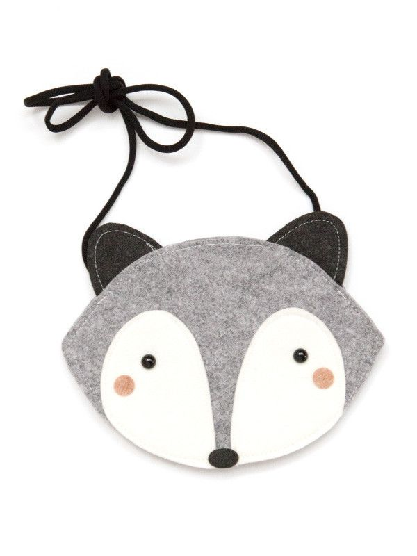 Raccoon Bag - Gray                                                                                                                                                                                 More