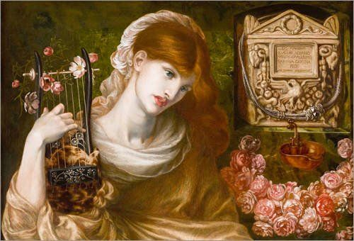 Forex-Platte 120 x 80 cm: Die römische Witwe von Dante Charles Gabriel Rossetti Jetzt bestellen unter: http://www.woonio.de/p/forex-platte-120-x-80-cm-die-roemische-witwe-von-dante-charles-gabriel-rossetti/