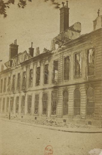 Arsenal de Paris - 1871-1873, photographe Eugène Appert