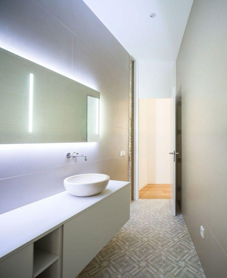 17 mejores ideas sobre paredes de ladrillo blanco en for Banos blancos modernos