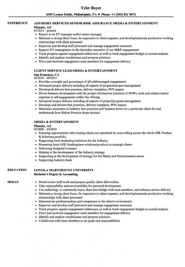 Entertainment Industry Resume Samples 2021 In 2020 Resume Examples Job Resume Examples Resume Template Examples