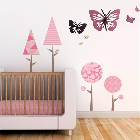 Butterflies Clock Indoor/Outdoor Wall Art