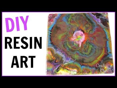 Resin Art ~ Garcia   DIY Projects    Craft Klatch   How To - YouTube