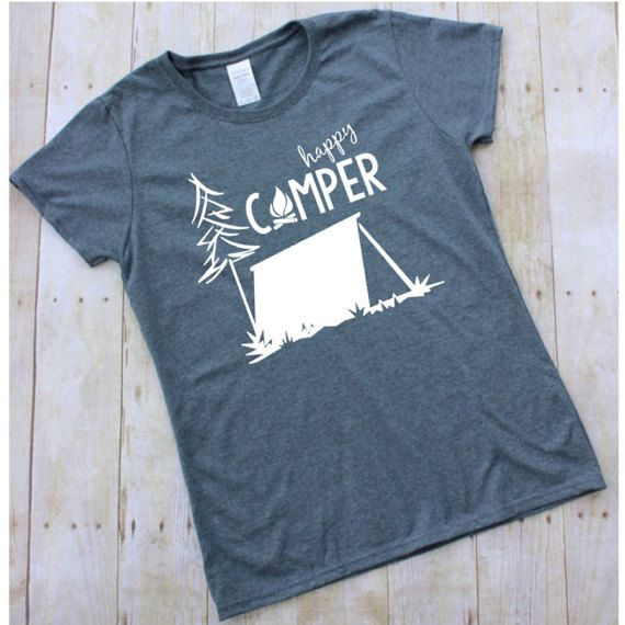 Camping season is one of my favorite times of the year... campfires, fresh air, sun, swimming, and so much more! This shirt is perfect for all of