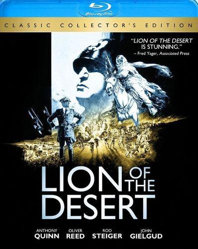 Lion of the Desert [Blu-ray] [1981]