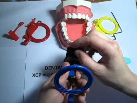 How to use an Anterior (blue) XCP dental film / PSP holder