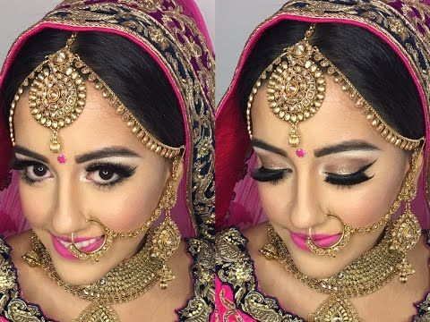 15 Best Indian Bridal Makeup Videos And Tutorials
