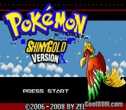 Pokemon Shiny Gold X (Hack) ROM Download for Gameboy Advance / GBA - CoolROM.com