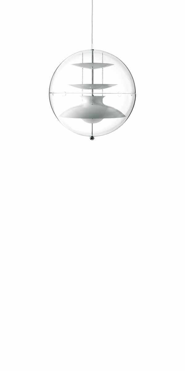 PANTO LARGE - Pendant designed in 1970  by Verner Panton