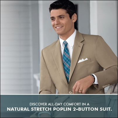 Poplin Suits Are Great For Keeping Cool Without Compromising Your Professional Look. Available In 8 Colors.