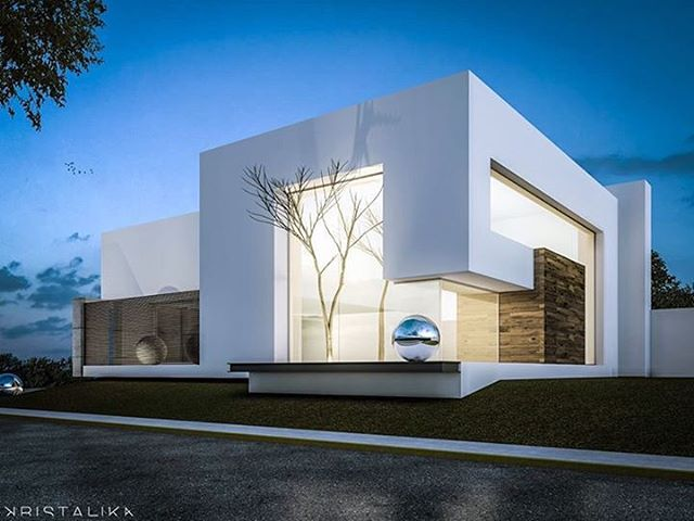 Semplice House by Kristalika. Be inspired by leading architects. #architect…