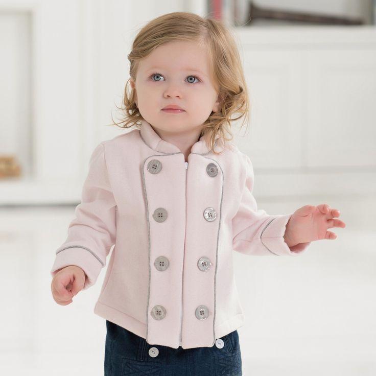 Płaszcz dziecięcy dla dziewczynki
