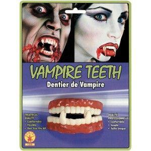 Dents de vampire vampire teeth (Dentier de vampire), Halloween