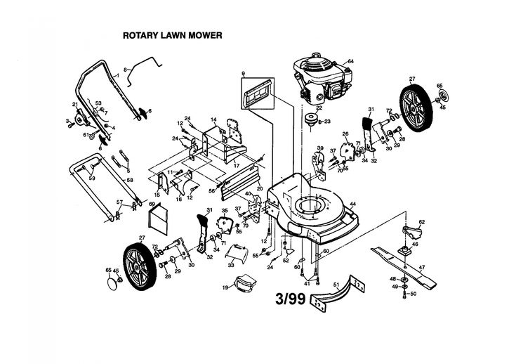 Honda Small Engine Parts Diagram di 2020