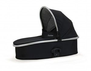 Get your Oyster 2 Carry Cot in Black - beautiful, stylish look. Visit www.babystylesa.co.za