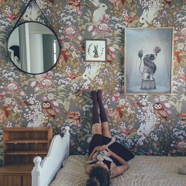 Lovely botanical wallpaper design by the Paper Partnership. | casa ...