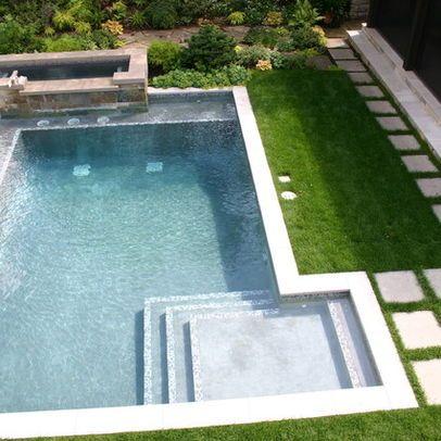 115 best Geometric Pool Designs images on Pinterest | Backyard lap ...