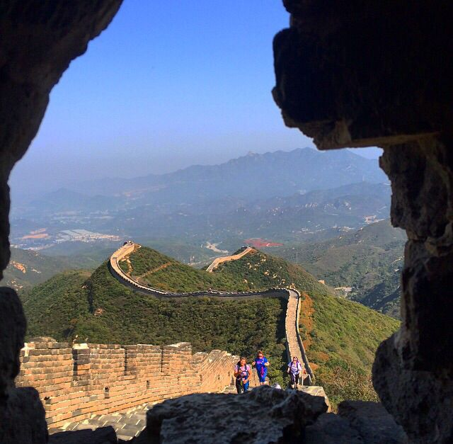 Day 1 Great Wall of China Charity Trek #fabulouschallenges #coppafeel