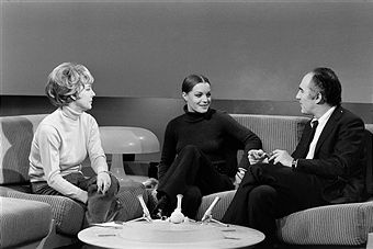 Interview Romy Schneider and Michel Piccoli by France Roche