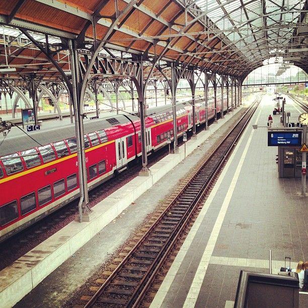 Lübeck Hauptbahnhof in Lübeck, Schleswig-Holstein