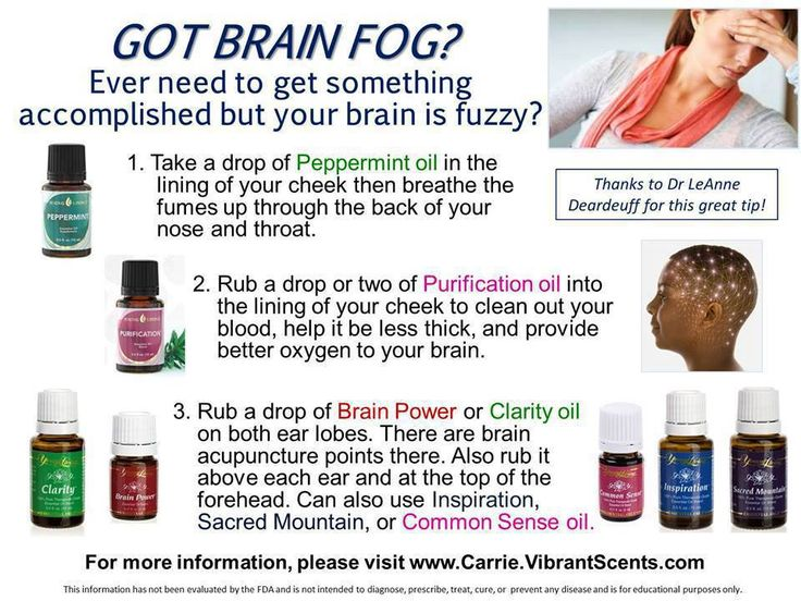 Natural remedy to help focus