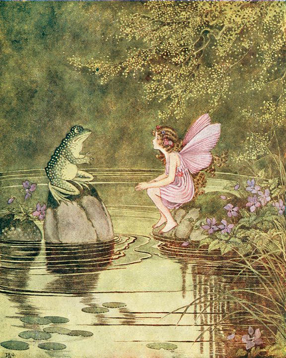 Magic Words and Little Frogs @ Georgianna Lane
