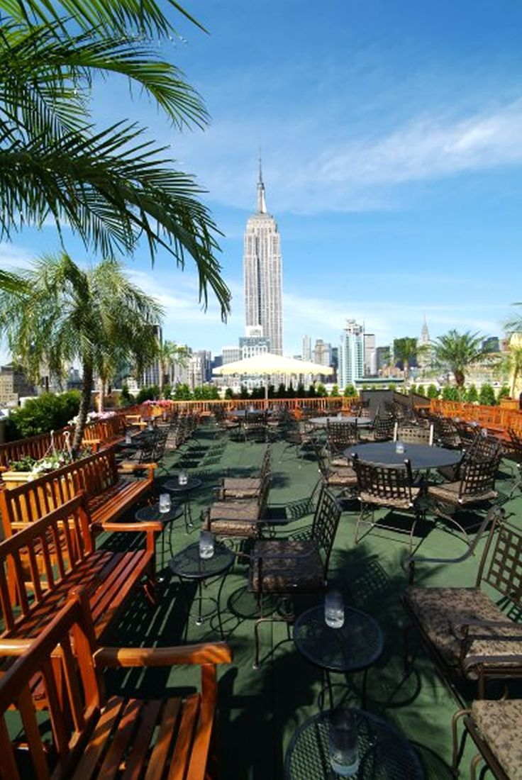 Outdoor Rooftop Garden Restaurant Bar and Lounge 230 Fifth