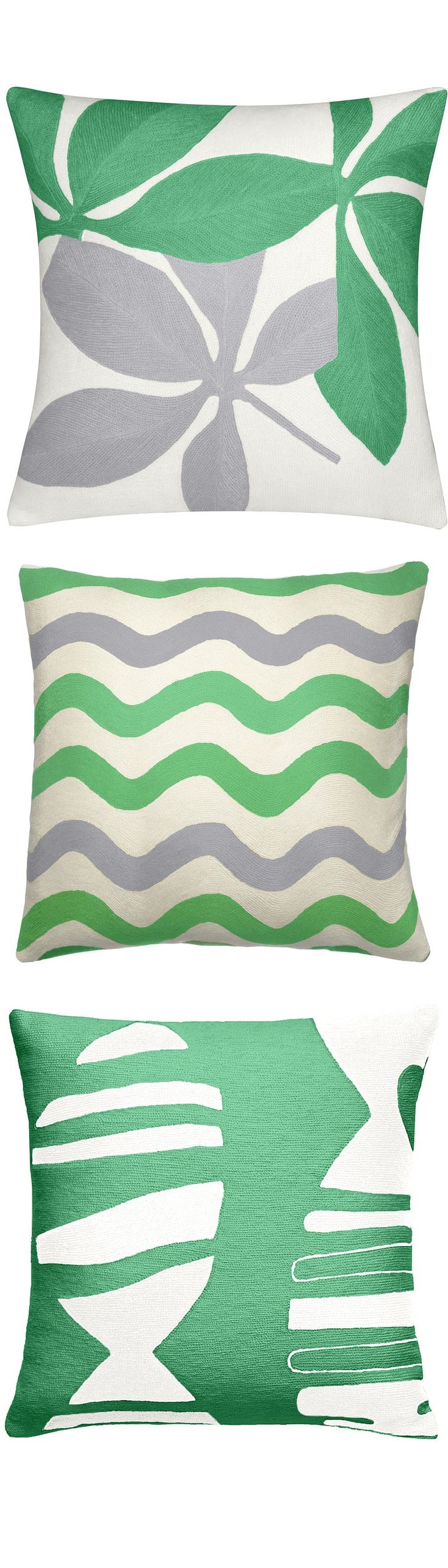 Modern Green Pillow : 17 Best images about Green Pillows on Pinterest Green pillow covers, Cushions and Pinterest pin