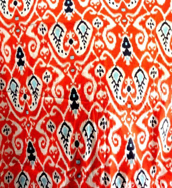 FAT QUARTER  Ikat fabric print ikat fabric for fashion dress making, quilting, bag making, general craft