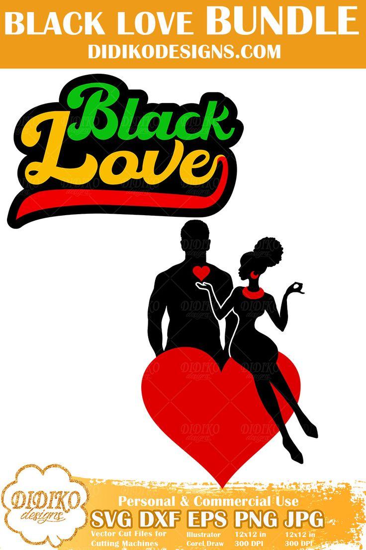 Download Black Love SVG #2   Black Woman Bundle svg Cricut file ...