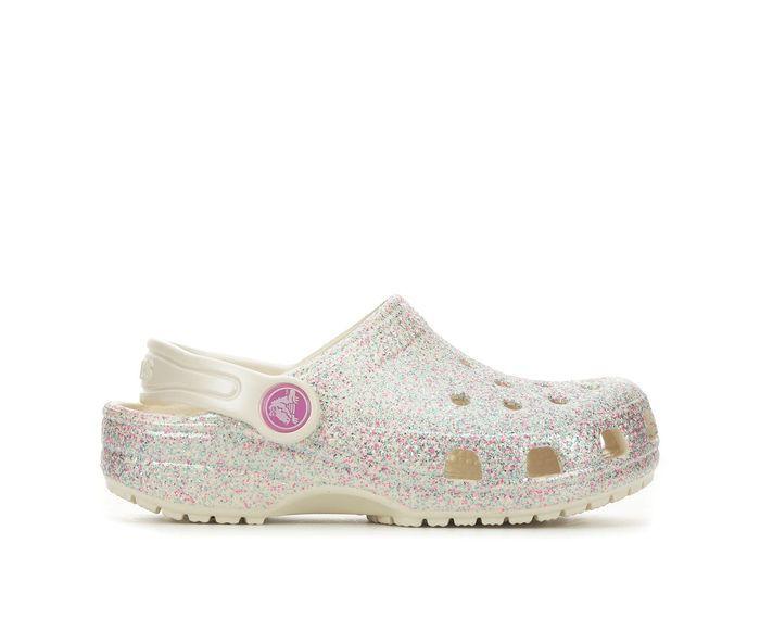 Crocs Little Kid Classic Glitter Clog
