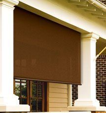 Coolaroo Exterior Sun Shades: Sydney Series by Coolaroo. $206.00. The Sydney series exterior outdoor shade offers an 90% ultra violet block with an 10% openness light factor.Save money with 20-25% heat reduction with an exterior outdoor shades from Coolaroo. Also reduces glare and damaging UV rays while still allowing air flow.