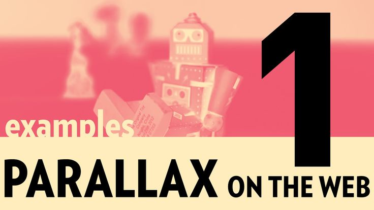 """Let's look at several examples of Parallax on the web! """"The phenomena of parallax is a result of having a perspective in in 3D space when movement is introdu..."""