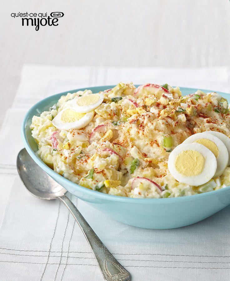 Salade de pommes de terre façon campagnarde #recette