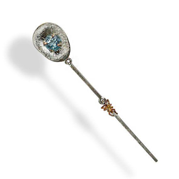 Topaz earrings, earrings dangle,mono earring, statement earrings, silver earring,earrings women, earrings gift