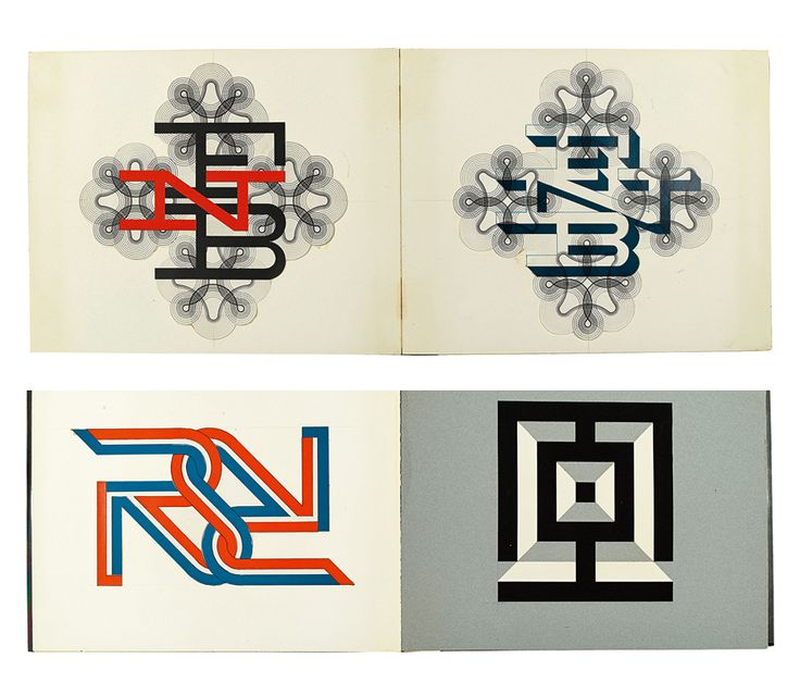 A matter of technique logo designs of herbert matter print magazine