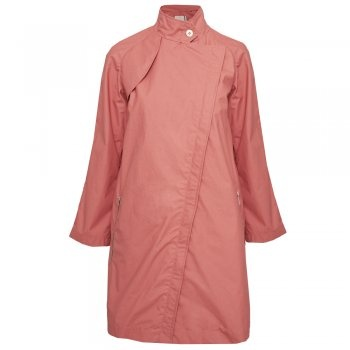Pret Pour Partir raincoat in Coral pink